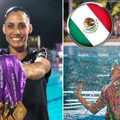 #Sirenas: México arrasa en la Serie Mundial de nado sincronizado en Grecia