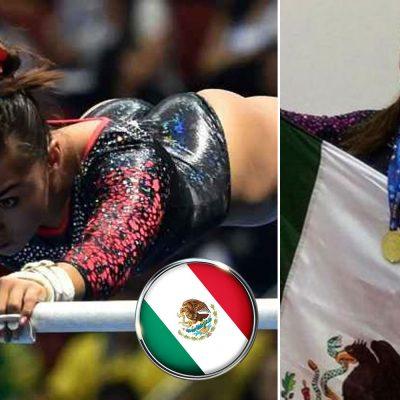 #Histórica: La mexicana Ahtziri Sandoval ganó la medalla de oro en el Mundial de Gimnasia