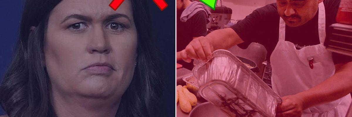 #PaFuera: Los empleados de Trump ya no pueden cenar a gusto en restaurantes mexicanos