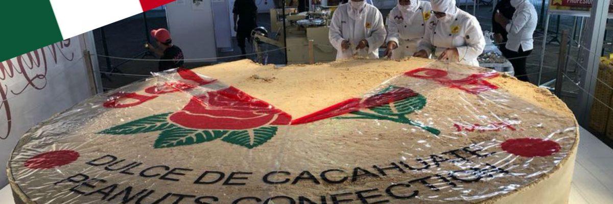 #Delicia: Mexicanos crean el mazapán más grande del mundo