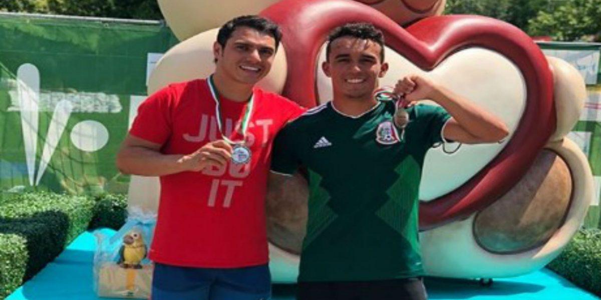 Yahel Castillo, Juan Celaya - Clavadistas mexicanos se cuelgan la plata en el Grand Prix de Italia