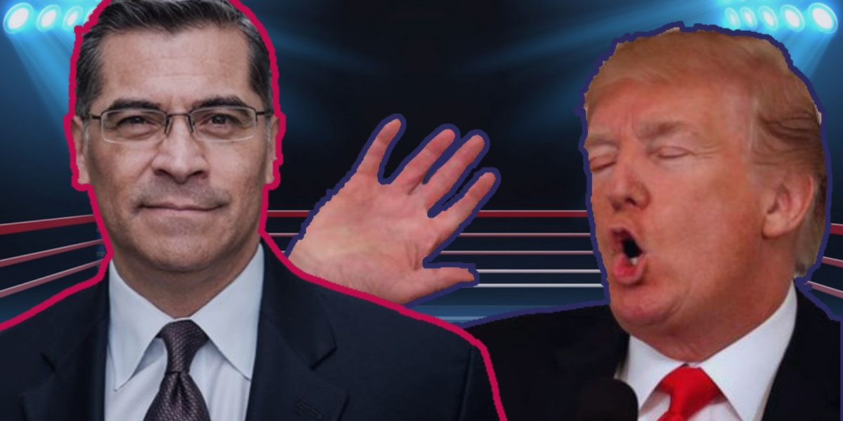 Xavier Becerra vs Donald Trump