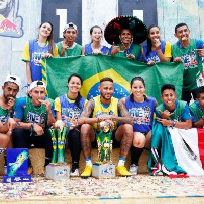 #Fregones: Mexicanos ganan el oro en torneo organizado por Neymar Jr.