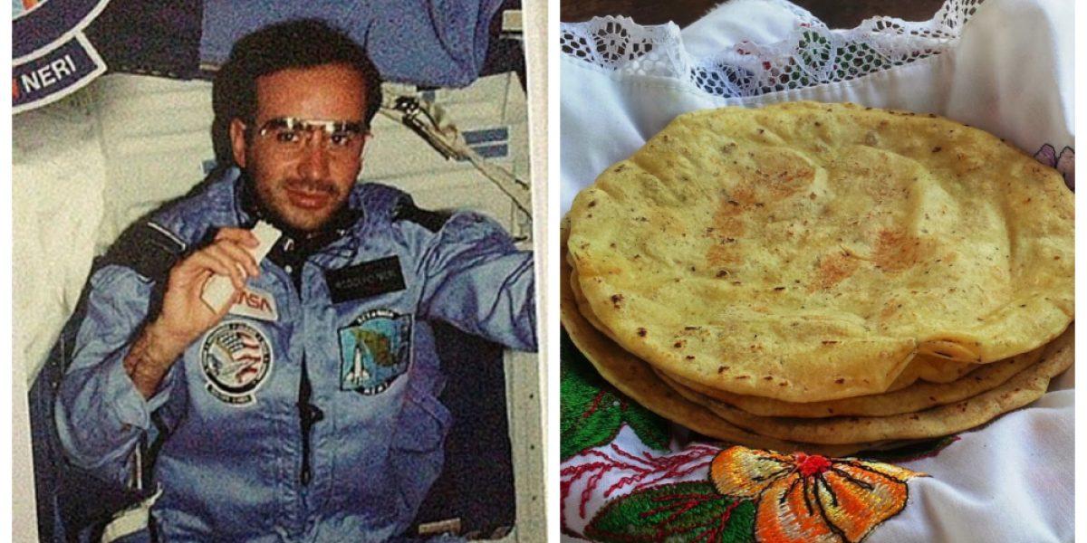 El mexicano que convenció a la NASA de usar tortillas como comida espacial
