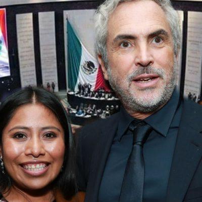 Gobierno mexicano entregará reconocimiento a Yalitza Aparicio y Alfonso Cuarón