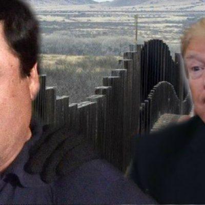 'El Chapo' podría cumplir el sueño de Trump y darle recursos para el muro
