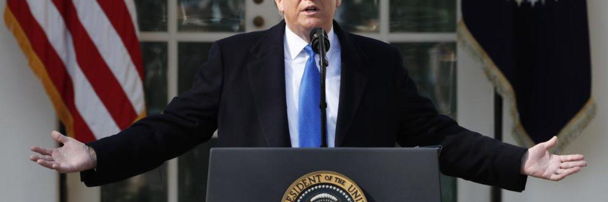 Las reacciones de rechazo a la declaración de emergencia de Trump