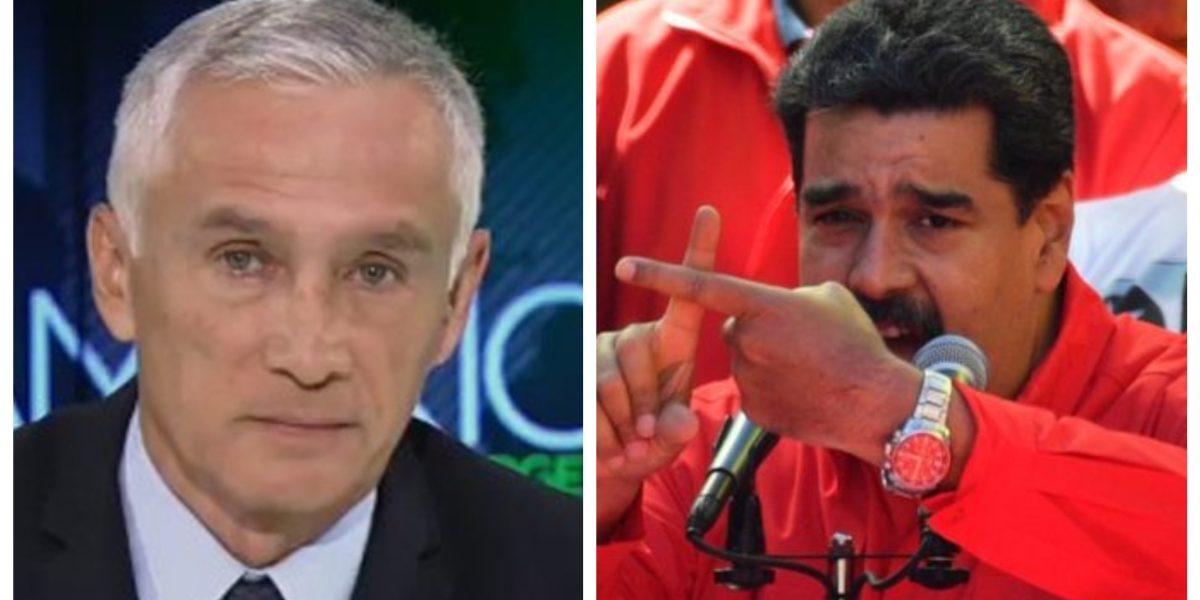 Maduro retuvo a Jorge Ramos y otros periodistas de Univision