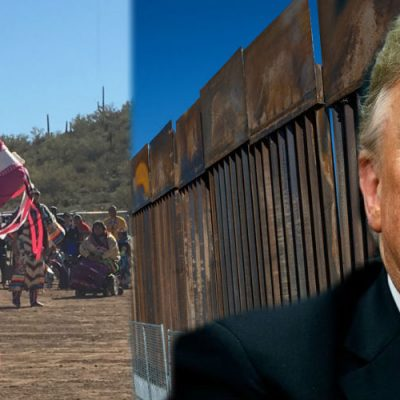Tribu indígena lanza advertencia a Donald Trump si insiste en construir el muro