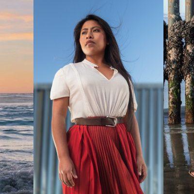 La fotos de Yalitza Aparicio en la frontera que derriban estereotipos