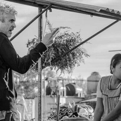 """Alfonso Cuarón, Yalitza Aparicio y """"Roma"""" van por más premios"""