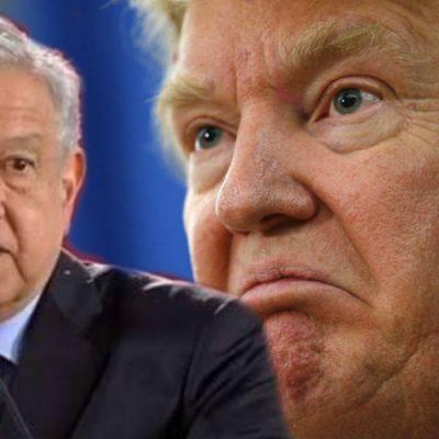 Dan dinero a Trump para construir el muro; AMLO le responde