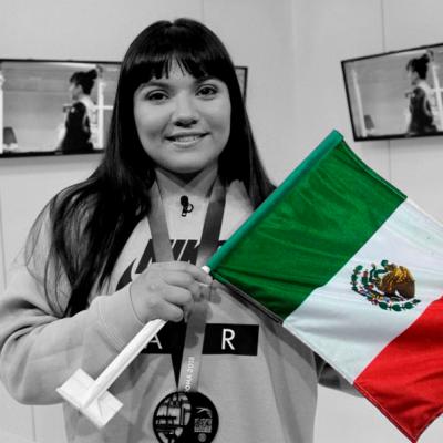 La mexicana Alexa Moreno hace historia en mundial de gimnasia