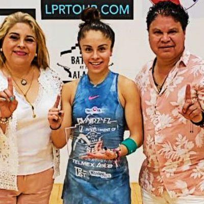 Orgullo nacional; Paola Longoria logra un nuevo título ahora en Texas