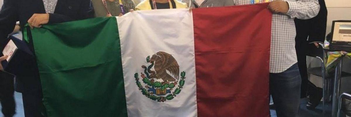 Niños mexicanos logran primer lugar de concurso de robótica en Rumania