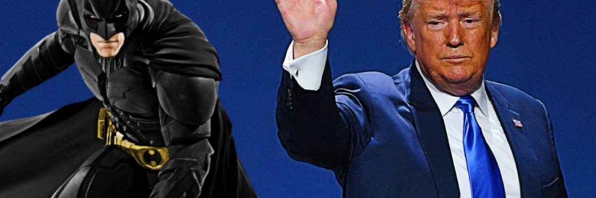 """Batman """"castiga"""" a Donald Trump en lo que más le duele"""