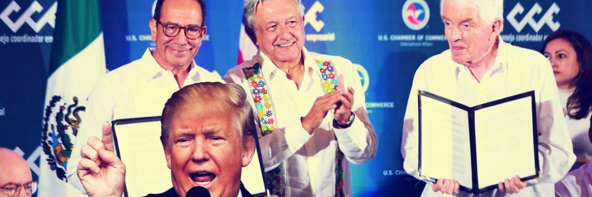 Presidente AMLO agradece a Trump respeto en temas migratorios