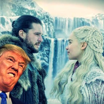 Donald Trump se burla de detractores con mensaje estilo Game Of Thrones