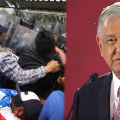Esto dijo AMLO sobre la detención de más de 300 migrantes en Chiapas