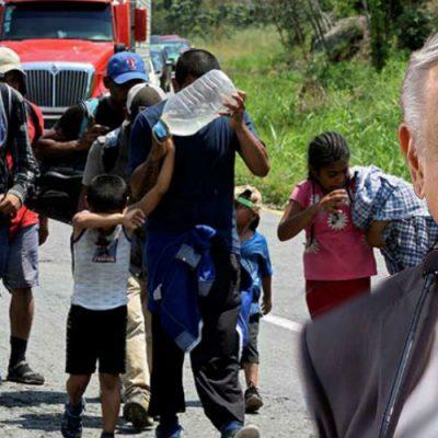 Donald Trump dice que México ha detenido migrantes; AMLO responde