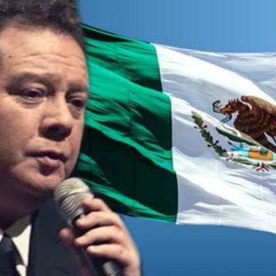 Famosos mexicanos que se han equivocado al cantar el himno nacional