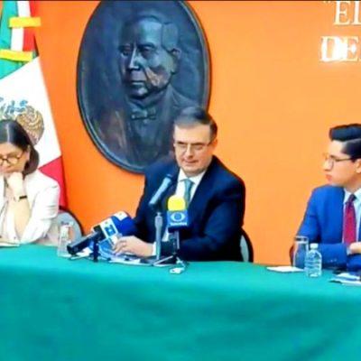 Marcelo Ebrard se reúne con yerno de Trump por plan migrante y esto pasó