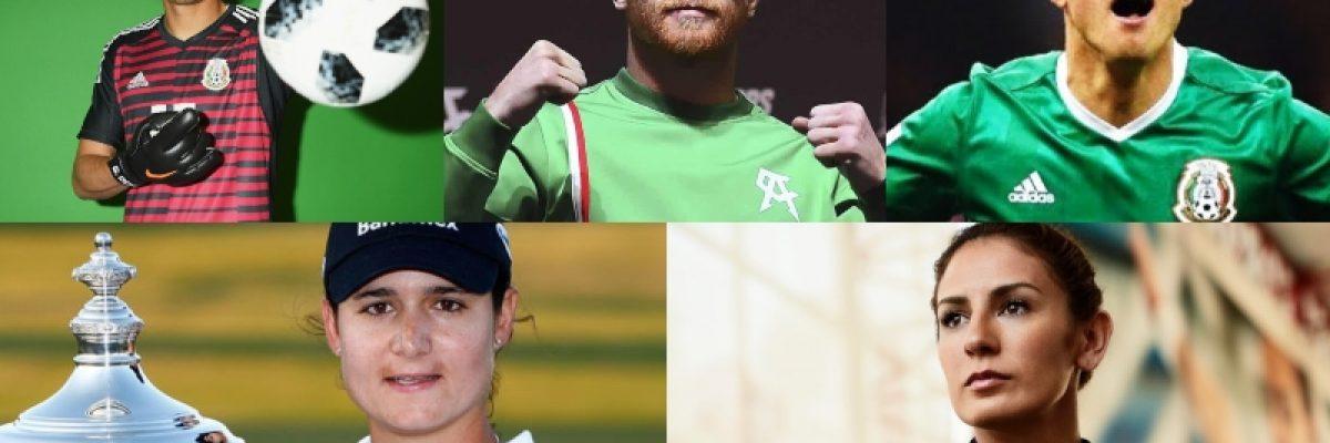 Estos son los deportistas más populares en México