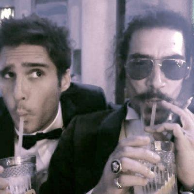 """¡""""Luisito Rey"""" regresó a México! Así fue captado el actor Óscar Jaenada"""