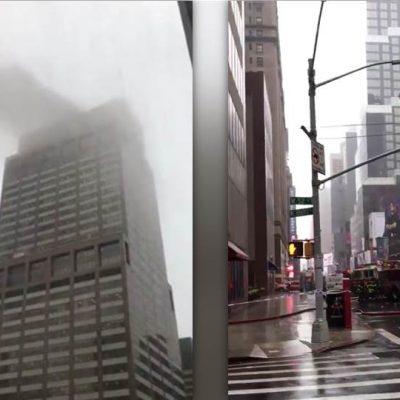 Esto es todo lo que sabe del helicóptero que se estrelló en edificio de NY (FOTOS)