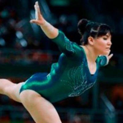 Alexa Moreno lo vuelve a hacer; obtiene medalla en evento de gimnasia