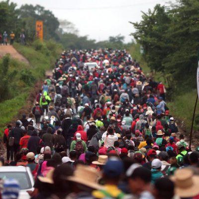 Mexicanos no quieren a los migrantes en su país, revela encuesta
