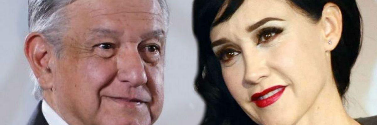Susana Zabaleta declaró que se equivocó al apoyar a AMLO; el presidente responde