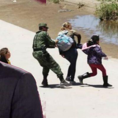 Así cuestionaron a AMLO por la detención de migrantes en México