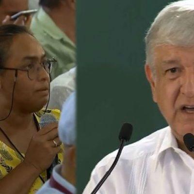 Periodista confronta a AMLO durante su conferencia de prensa