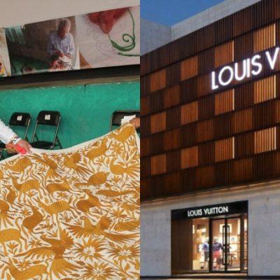 """La marca Louis Vuitton se """"roba"""" diseño mexicano; buscan acuerdo con artesanos mexicanos"""