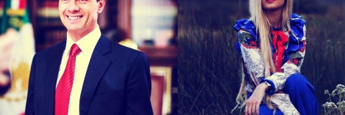 Reaparece Peña Nieto con sorprendente mensaje de su nueva novia