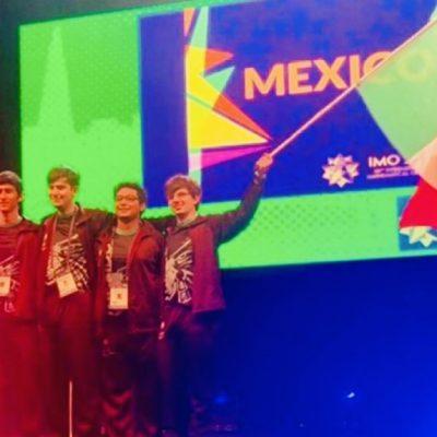 Los niños mexicanos becados por Del Toro ganan medallas
