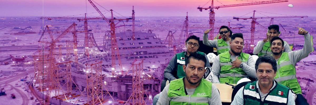 Mexicanos son parte de la construcción de los estadios de Catar 2022 y tú no lo sabías
