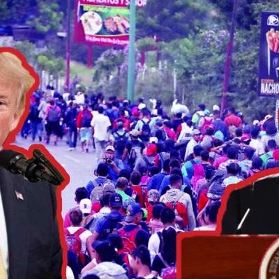 Encuesta revela lo que los mexicanos piensan de los migrantes y su presidente