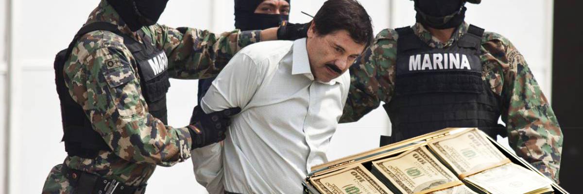 Gobierno de EUA y México ahora van por la fortuna de Joaquín Guzmán