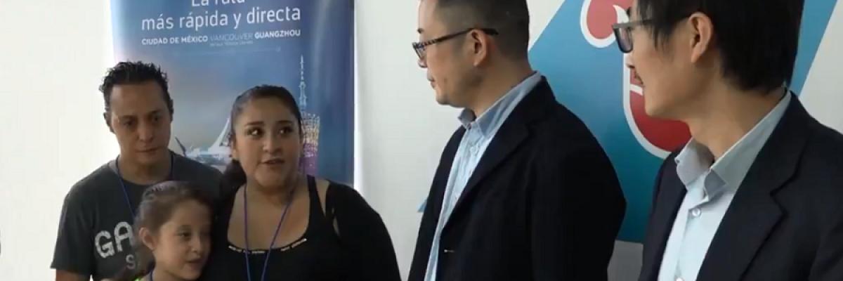 Aerolínea China paga viaje a mexicana para competir en campeonato de matemáticas