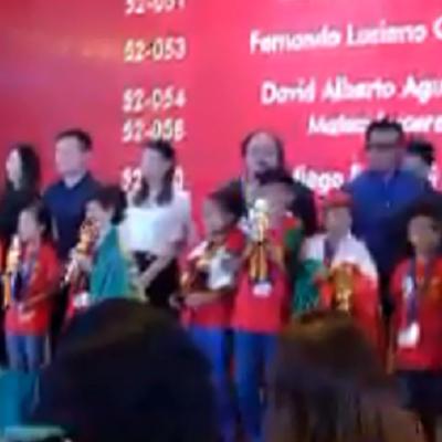 Niños mexicanos se coronan campeones mundiales en Competencia Internacional de Aritmética Mental