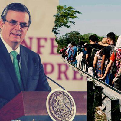 Gobierno de México anuncia que se han logrado avances con plan migrante
