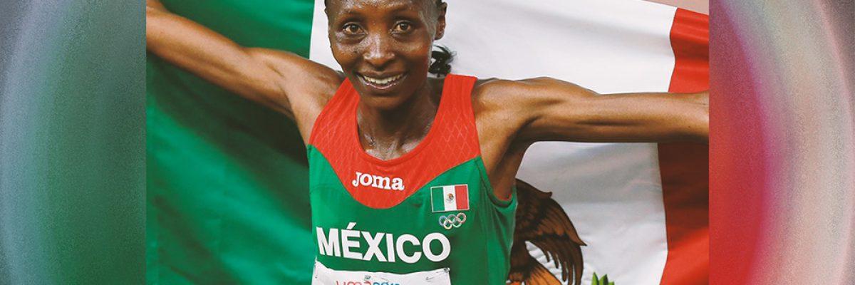 Ella es Risper Biyaki, nació en kenia y es la mexicana del momento
