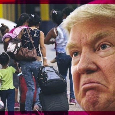 Con esta medida, Donald Trump encarcelará a los migrantes menores que sean detenidos