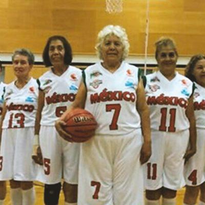 Abuelitas mexicanas logran campeonato en Mundial de basquetbol