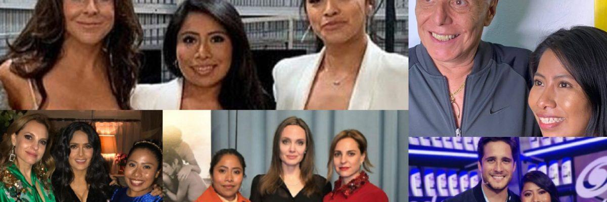 Los famosos que se han tomado fotos con Yalitza Aparicio sin pagarle 30 mil pesos