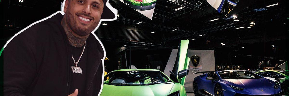 Estos son los lujosos autos que posee Nicky Jam
