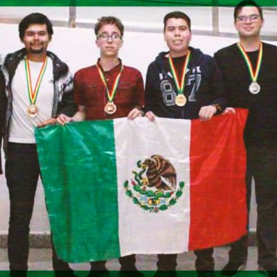 Mexicanos logran medallas de oro, plata y bronce en olimpiada de biología