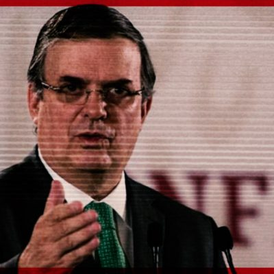 Previo a reunión en la Casa Blanca, canciller mexicano discrepa por tema de país seguro con EU